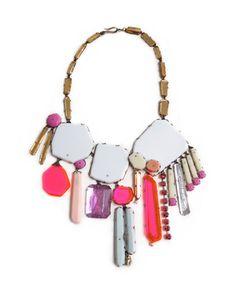 N2 Couppee, Nikki white & pink gem necklace.jpg