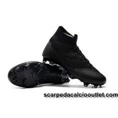 Scarpe Da Calcio Nike Bambino Mercurial Superfly VI 360 Elite FG Nero Nike  Kids 59b3563d0d40e