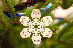 star wars 3d printed Christmas ornament