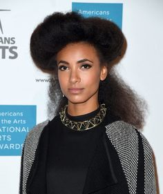 Esperanza Spalding Photos Photos - Esperanza Spalding  attends the Americans for the Arts National Arts Awards 2016 at Cipriani 42nd Street on October 17, 2016 in New York City. / AFP / ANGELA WEISS - 2016 National Arts Awards
