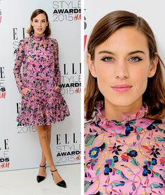 Alexa Chung attends the Elle Style Awards 2015