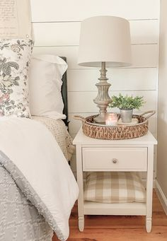 Simple and beautiful summer bedroom decor with affordabl… Summer Bedroom Refresh. Simple and beautiful summer bedroom decor with affordable finds from Walmart! Farmhouse Master Bedroom, Home Bedroom, Modern Bedroom, Bedroom Furniture, Bedroom Ideas, Contemporary Bedroom, Bedroom Simple, Bedroom Designs, Bedroom Neutral