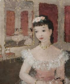 Dietz Edzard, Contemplative Ballerina in a Palace Interior