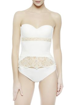 La Perla Shape-Allure Underwire Body #brides #bridal #wedding #lingerie