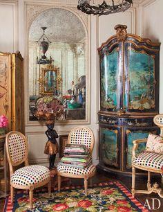 O apartamento do ícone fashion Iris Apfel