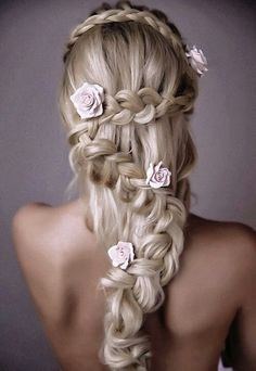 #Hairstyle with ladder braid