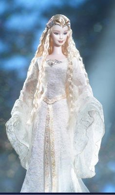 """Galadriel Barbie inspired by """"The Lord of the Rings: The Fellowship of the Ring."""""""