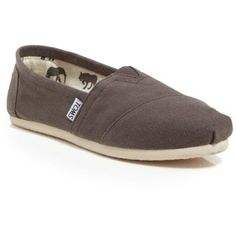 TOMS Slip On Flats - Classic Canvas