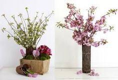 rustic flowers in vase - Google Search