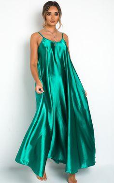 Tiffany Satin Maxi Slip Dress - Tiffany Satin Maxi Slip Dress at ikrush Source by glare_eroticism - Source by h_anami dress Simple Dresses, Pretty Dresses, Tiffany Dresses, Silky Dress, Belted Shirt Dress, Satin Dresses, Women's Dresses, Retro Dress, Chic Outfits