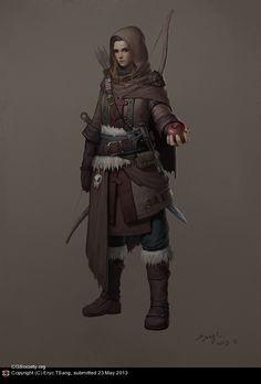 pos'ly. Wendar, Norwold (Oceansend, or Landfall..?), Vestland (''N'ern. Reaches'), or maybe even Helskir (Isle of Dawn)  [Ranger garb]