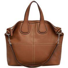 Tilli Alba Big Leather Bag ($235) ❤ liked on Polyvore