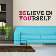 Be You Wall Quote by WallsNeedLove on Etsy