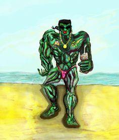 """""""Hulk al mare...alla faccia di tutto il mondo"""""""