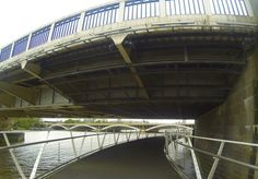 Exploring the developments around the old Battersea Power Station (what happened to the iconic chimneys?I can only see one still standing) then walking beneath Chelsea Bridge. #GoProHero3BE © Steve Swindells. 8.8.16