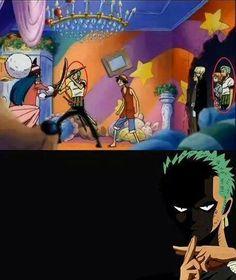 Zoro knows the Shadow Clone Jutsu   One Piece