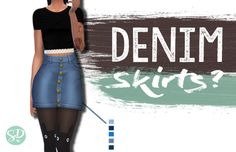 sims 4 skirtshappy october 1st pals, 15 days till ma birthday! suitable for all genders ❤ 356.6 kB , 5 variations (ノ゚ο゚)ノミ download time to eat my vegan jam tart and get crackin' on some halloween shiz xo