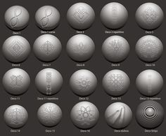 Free Pixologic ZBrush brushes courtesy of André de Souza, created for use with his personal projects. Zbrush Tutorial, 3d Tutorial, Sculpting Tutorials, Art Tutorials, Prop Design, Game Design, Zbrush Character, Character Art, Character Design