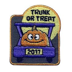 Trunk or Treat 2017 Fun Patch. Celebrate Halloween with your Girl Scouts by hosting or attending a Trunk or Treat. They are tons of fun! Don't forget to order our Trunk or Treat 2017 patches. Available at MakingFriends.com
