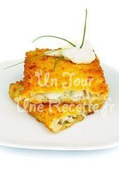 Photo de la recette Cabillaud pané au parmesan