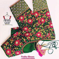 Saree Kuchu Designs, Wedding Saree Blouse Designs, Fancy Blouse Designs, Kurti Designs Party Wear, Hand Work Blouse Design, Stylish Blouse Design, Blouse Designs Catalogue, Maggam Work Designs, Embroidery Works