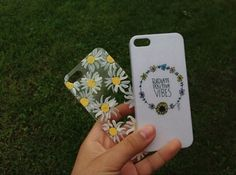 sunflower and radiate positive vibes phone case