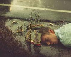 Inspirational Surrealism Self-portraits Photography Fine Art By Kyle Thompson, old, self-taught Photographer Self Portrait Photography, Surrealism Photography, Conceptual Photography, Fine Art Photography, Inspiring Photography, Artistic Photography, Narrative Photography, Experimental Photography, Fantasy Photography