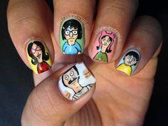 Bob's Burgers nails
