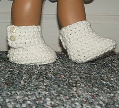 Ravelry: AG Button Boots pattern by Carol Ballard