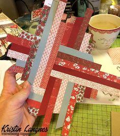 Patcwork-teknikk http://kristinslilleblogg.blogspot.no/2016/11/julekort-med-patchwork-teknikk.html?m=1