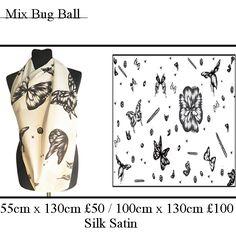 Mix Bug Ball. Scarf. www.johannafleming.co.uk