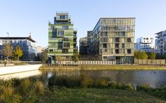 Housing Construction | Tania Concko | Architects Urbanists LYON CONFLUENCE LOT A Photograph © J-F TREMEGE