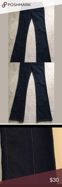Miss Sixty Nixie one Low Rise Skinny Jeans 27 Retro style Miss Sixty Nixie One skinny Jeans in pristine condition ! Only worn a couple times ! Size 27. They are skinny jeans with a flare at the ankle .  They zip up in the back . Miss Sixty Jeans