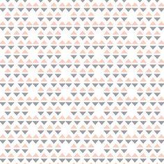 Scandinavische driehoek roze en donkergrijs