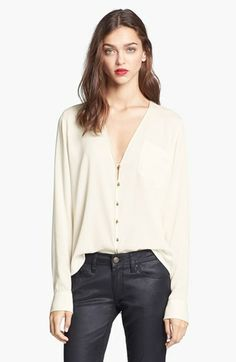 Rachel Zoe 'Angie' Silk Blouse available at #Nordstrom