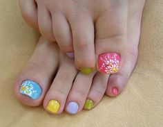 51 best easter nail designs images on pinterest easter nail cute toenail designs do it yourself apart from your fingernails your toenails will also benefit from cute and funky nail art solutioingenieria Images