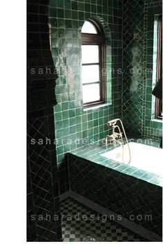 Green Moroccan Bathroom Floor Tile Design Modern Moroccan Tiles