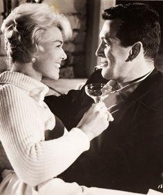Doris Day & Rock Hudson in Pillow Talk 1959