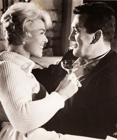 Doris Day & Rock Hudson in Pillow Talk 1959