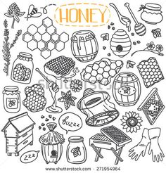 bees doodles - Google Search