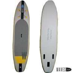 L' «active» gonflable Active, Paddle Boarding, Surfboard, Skateboard, Waves, Skateboarding, Skate Board, Stand Up Paddling, Skateboards