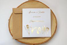 Zaproszenia Ślubne- Tulipany Złote #zaproszenia #zaproszeniaslubne #zaproszenia2019 #zaproszeniaslubne2019 #slub #slub2019 #panipanizakochani #wedding #wedding2019 #weddinginvitation #invitation #tulipany #tulipanyzlote #zaproszeniazlocone #zaproszeniagold www.panipanizakochani.pl Place Cards, Place Card Holders, Wedding, Valentines Day Weddings, Weddings, Marriage, Chartreuse Wedding