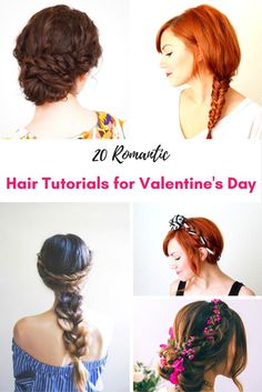 These hair tutorials look so beautiful and seem simple for busy moms and perfect for date night with hubby for Valentines Day!!!