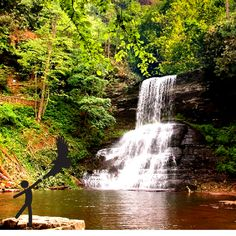 Cascades Waterfall, Giles County, VA Crush Friday with a day trip to Virginia's Mountain Playground.