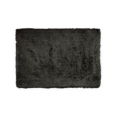 Kathy Ireland Studio Collection Shag Rug, Black