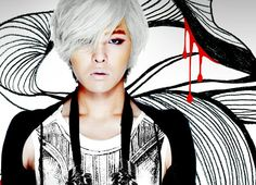 G-Dragon ( Heartbreaker Album Cover)