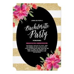 Find customizable bachelorette party invitations & announcements to share with the women you care about the most, right here at Zazzle! Glitter Wedding Invitations, Destination Wedding Invitations, Wedding Invitation Design, Custom Invitations, Invites, Shower Invitations, Glitter Bachelorette Party, Bachelorette Party Invitations, Bachelorette Weekend