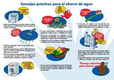 Consejos para el ahorro de agua