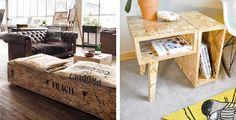 l'OSB pour fabriquer des meubles