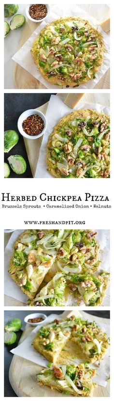 A deliciously healthy pizza night recipe without the guilt! high protein chickpea flour and fresh veggies make this a go-to recipe any day of the week! #glutenfree #vegetarian #pizzacrust #healthyrecipes